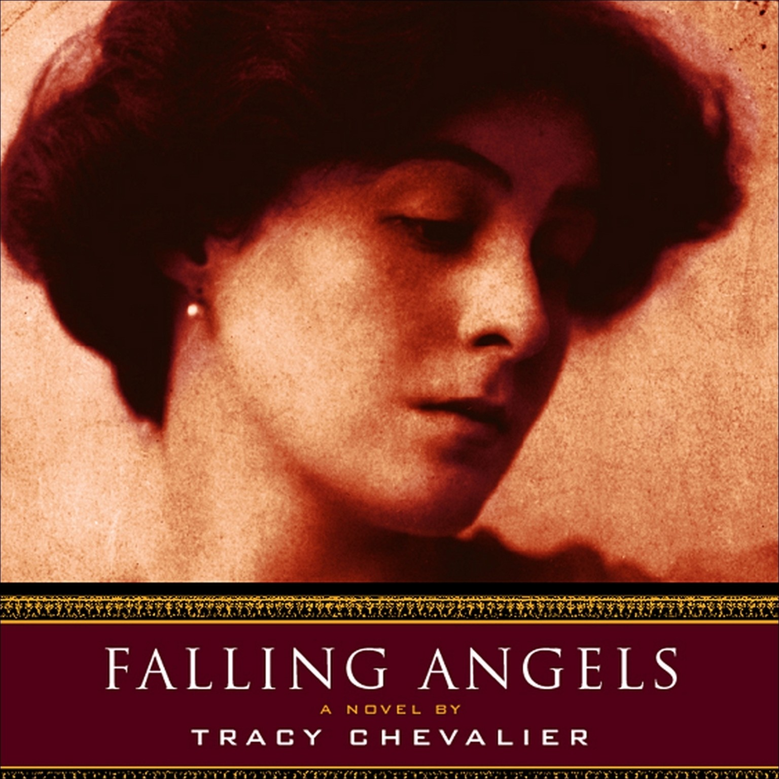 Printable Falling Angels Audiobook Cover Art