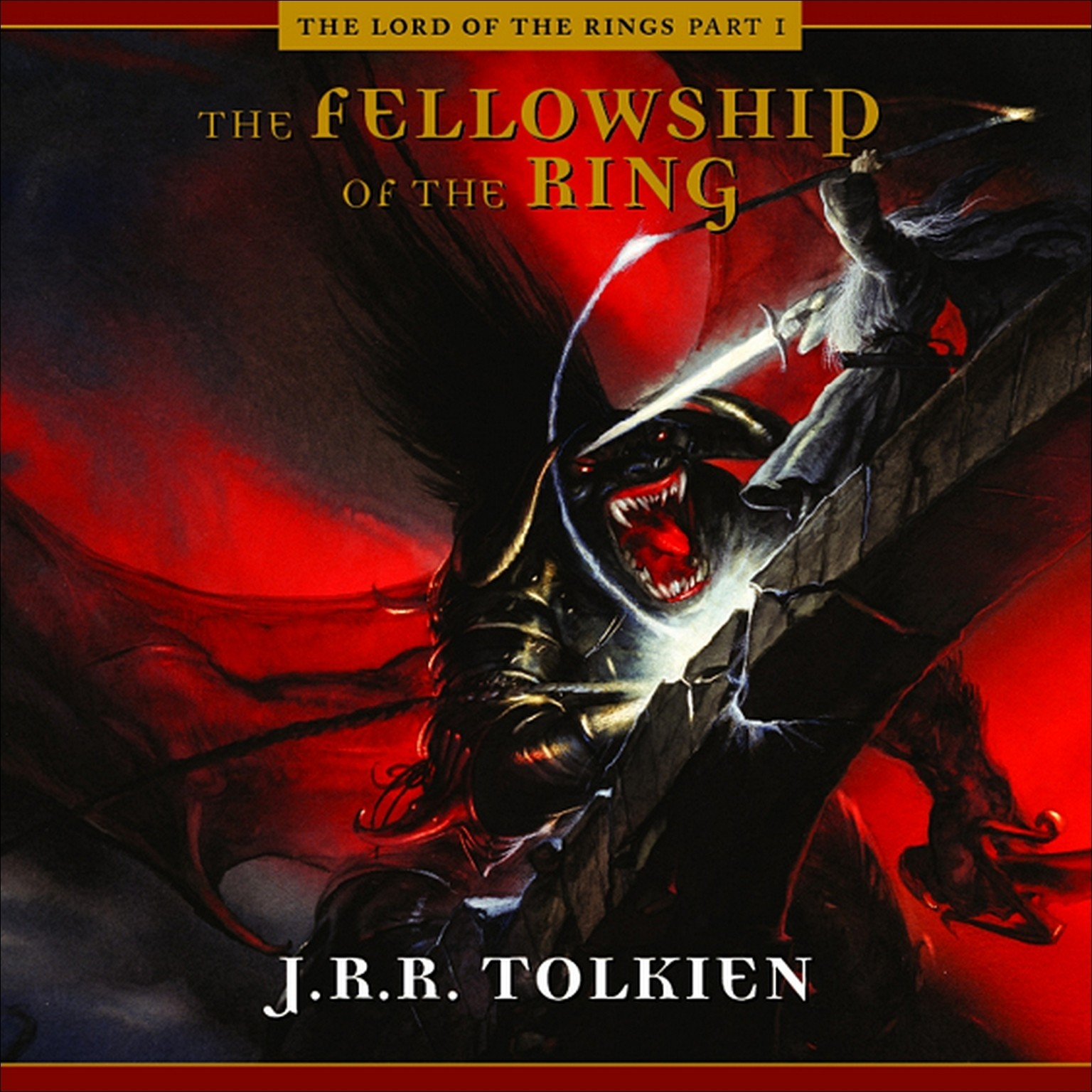 Printable The Fellowship of the Ring Audiobook Cover Art