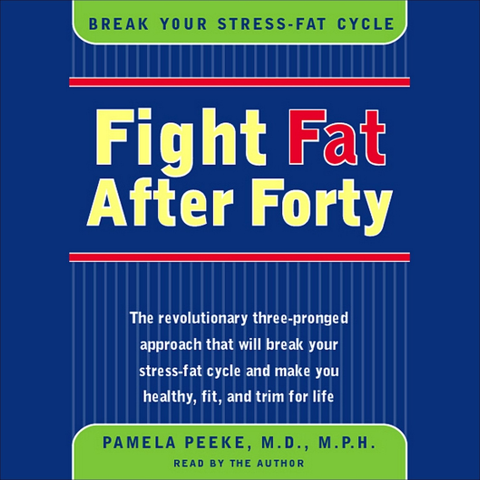 Printable Fight Fat After Forty Audiobook Cover Art