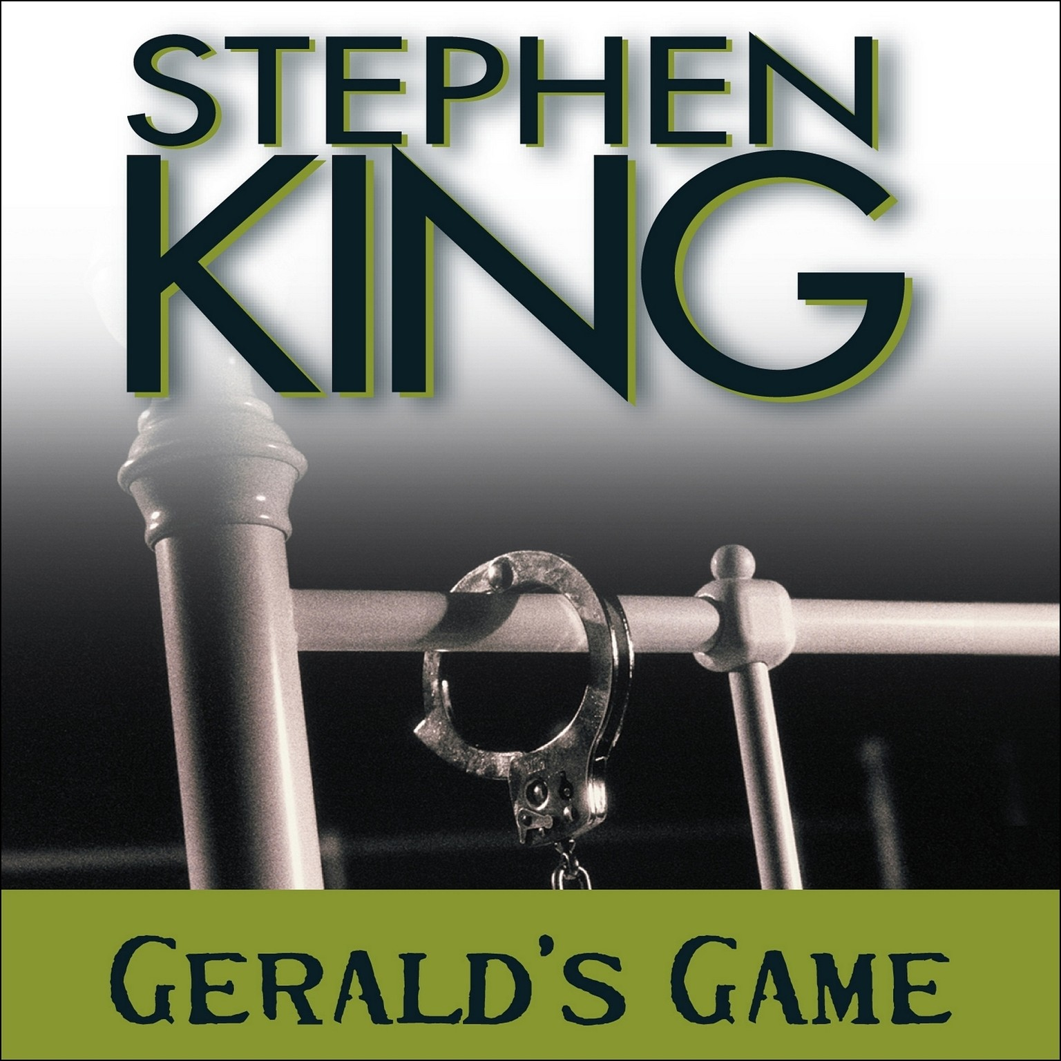 Printable Gerald's Game Audiobook Cover Art