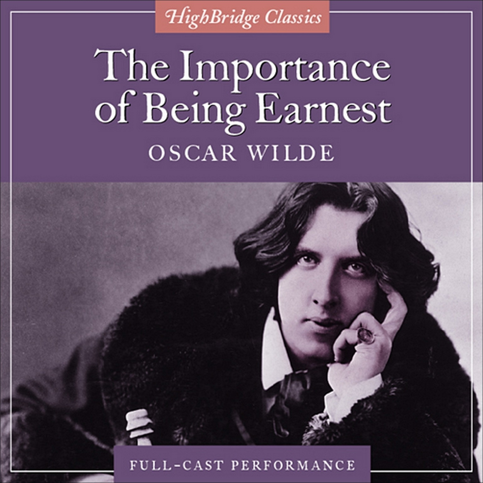 Printable The Importance of Being Earnest Audiobook Cover Art