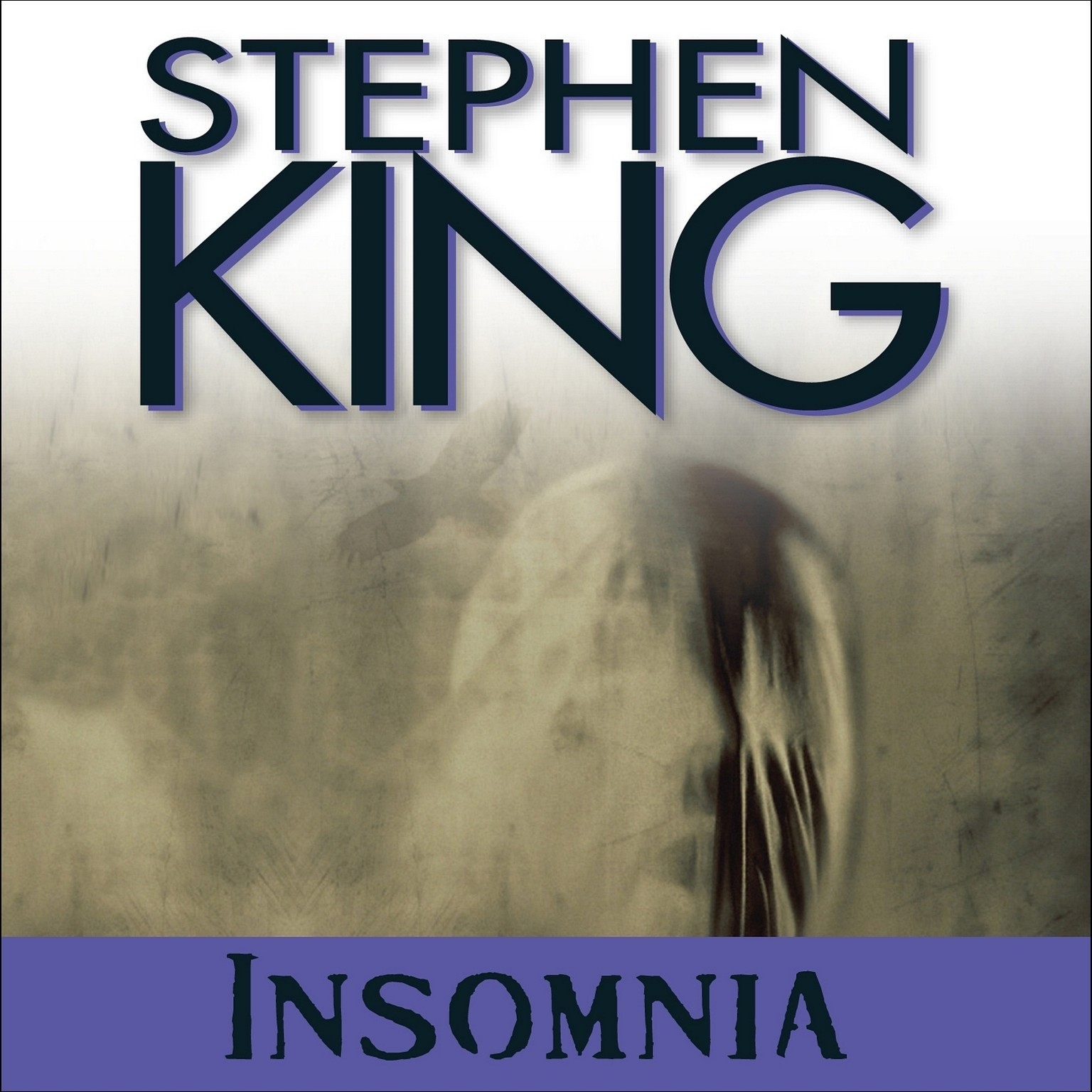 Printable Insomnia Audiobook Cover Art