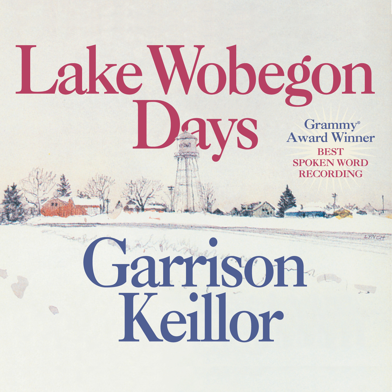 Printable Lake Wobegon Days Audiobook Cover Art