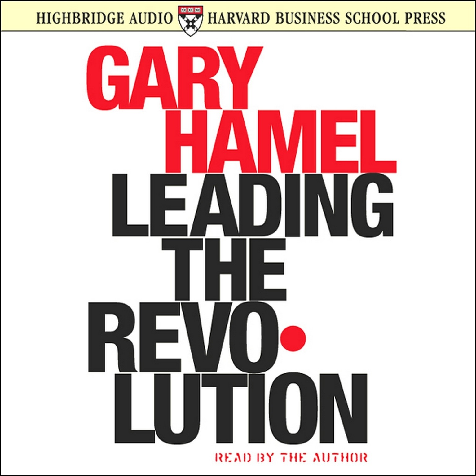 Printable Leading the Revolution Audiobook Cover Art