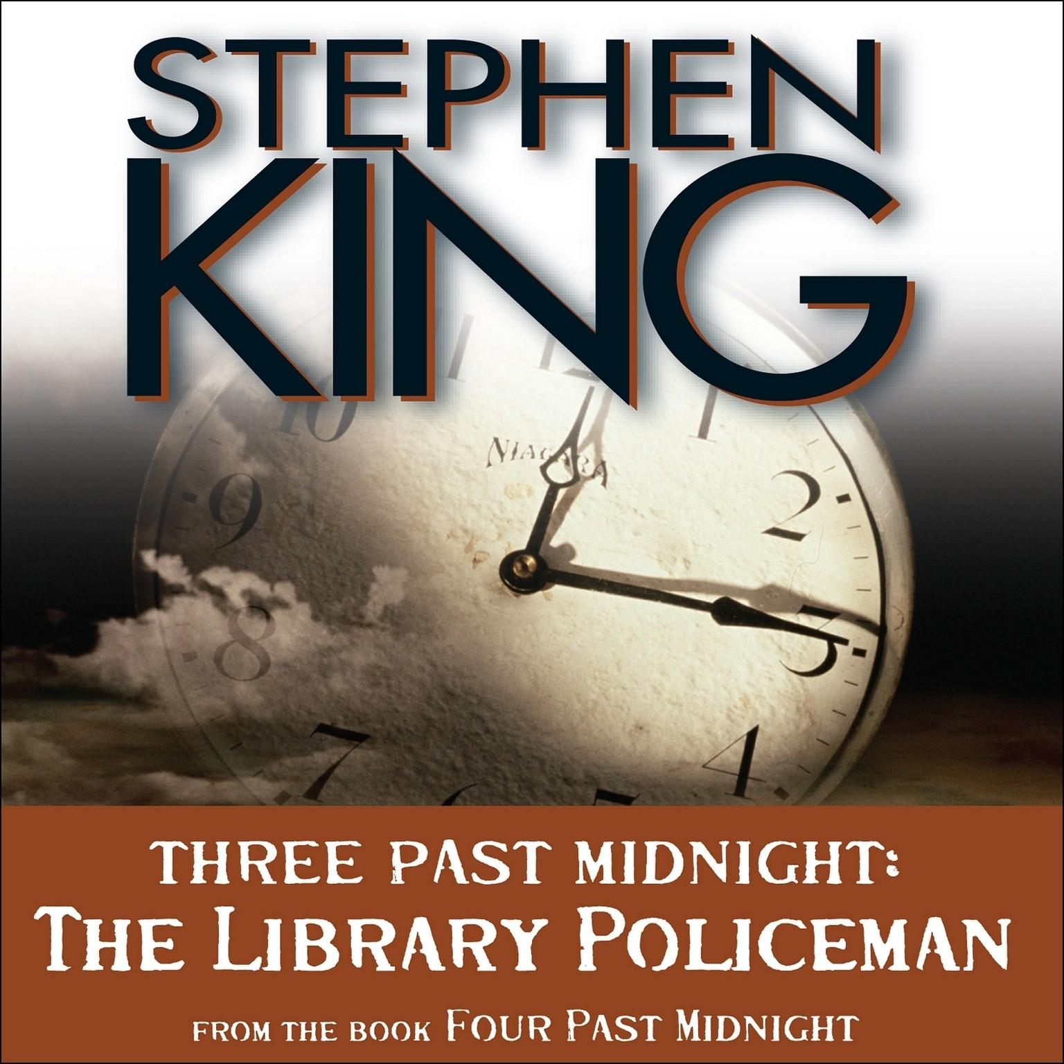 Printable The Library Policeman: Three Past Midnight Audiobook Cover Art
