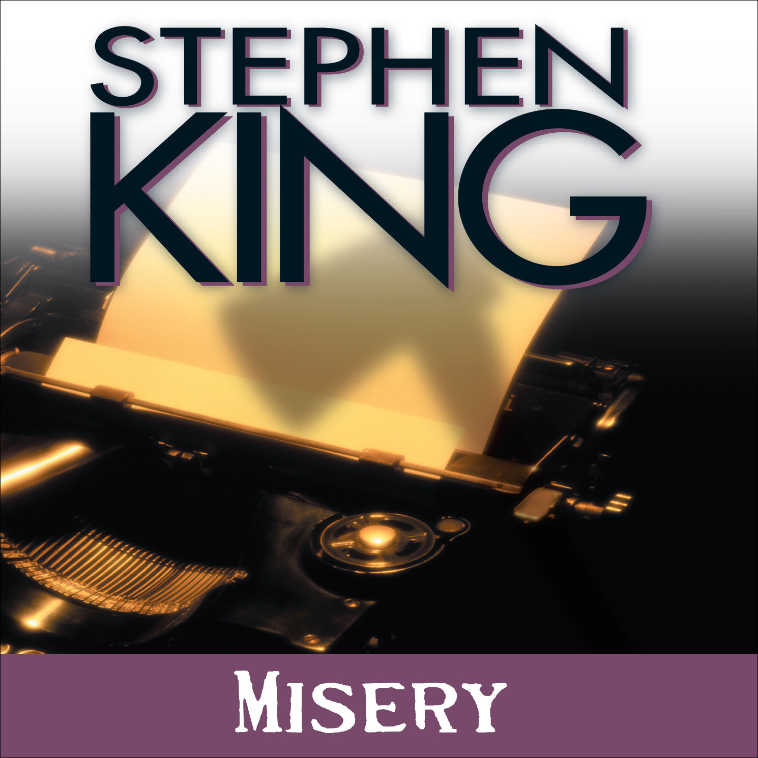 Printable Misery Audiobook Cover Art