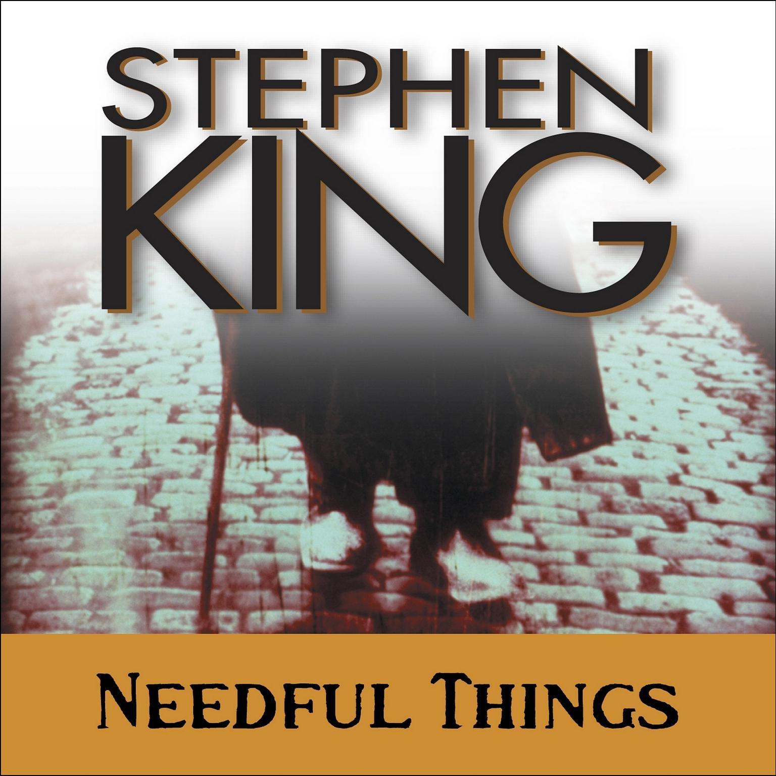 Printable Needful Things Audiobook Cover Art