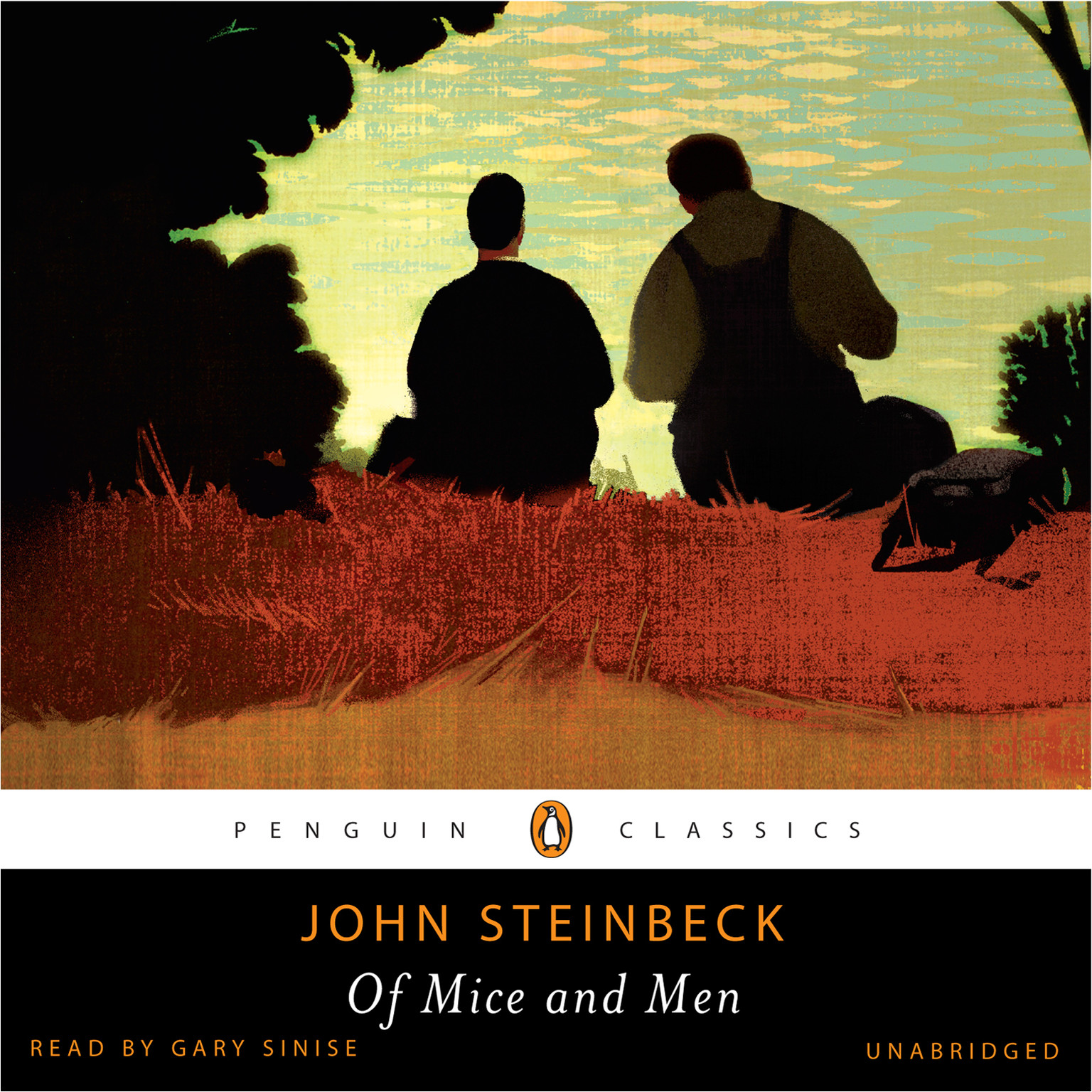 Printable Of Mice and Men Audiobook Cover Art