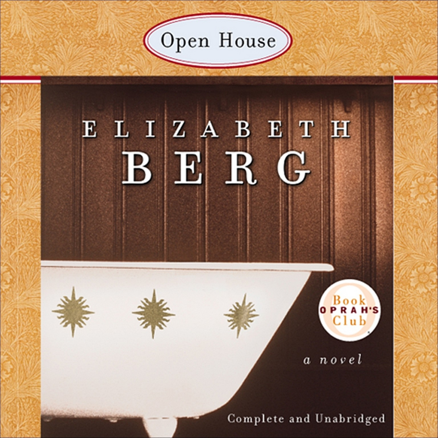 Printable Open House Audiobook Cover Art