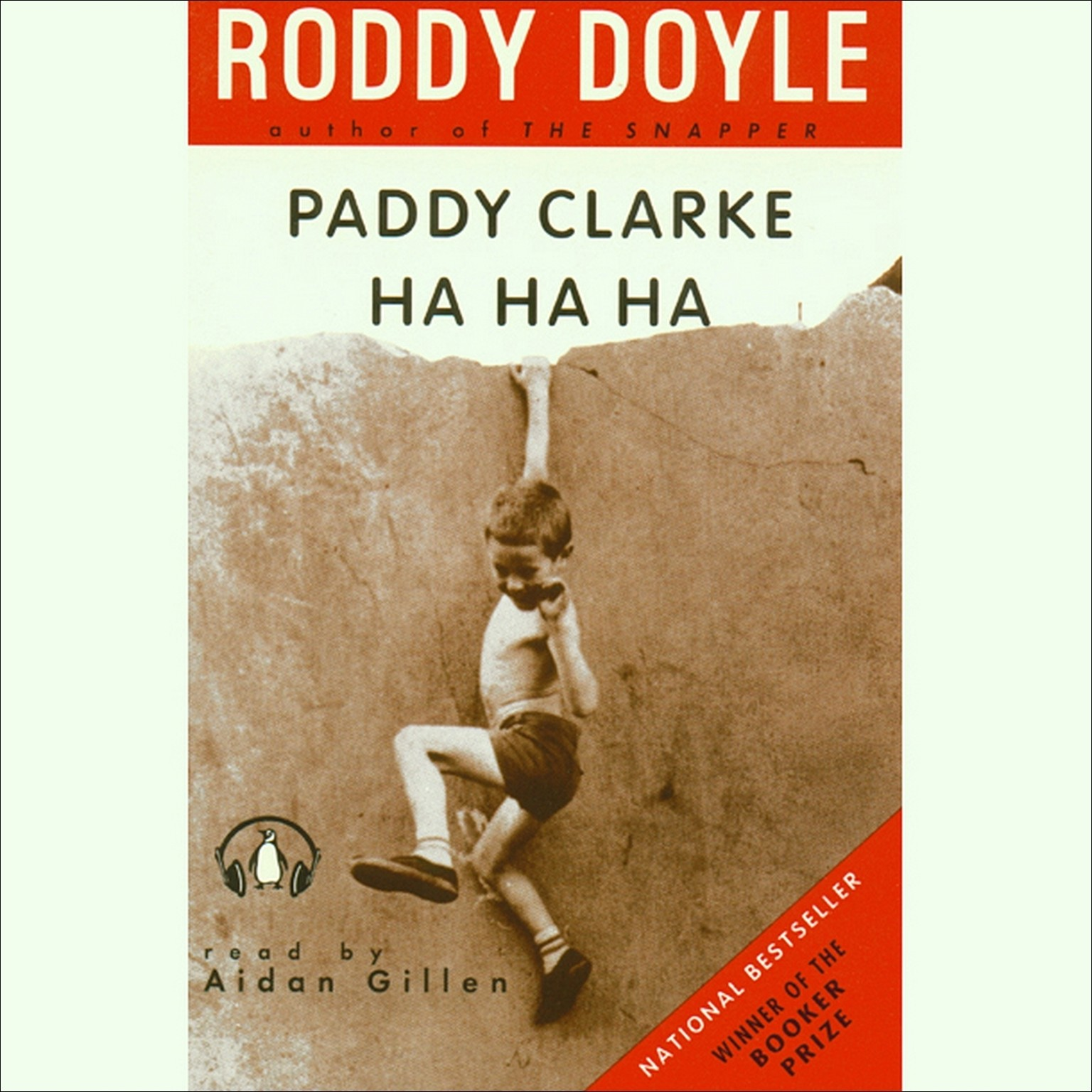 Printable Paddy Clarke Ha Ha Ha Audiobook Cover Art