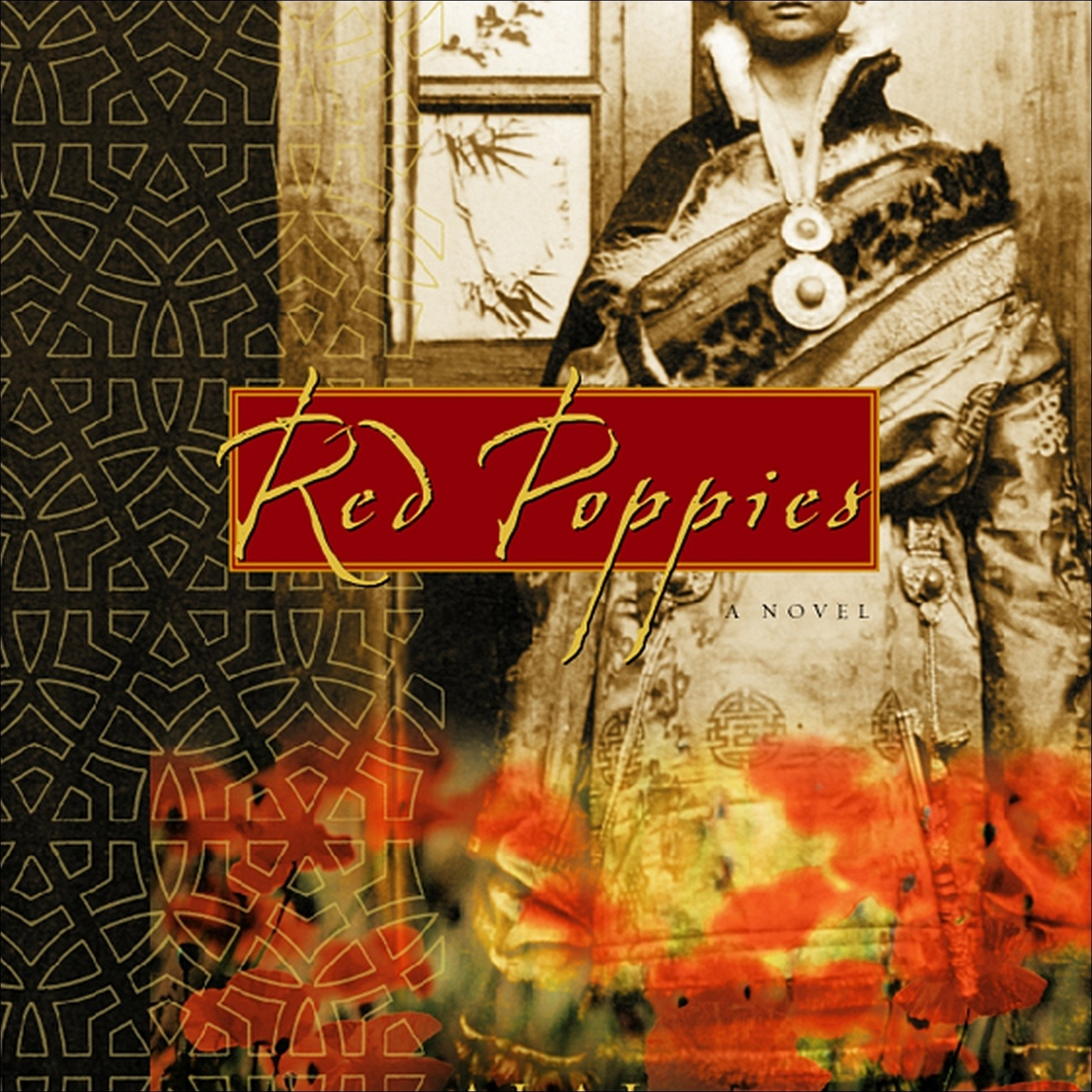 Printable Red Poppies: A Novel of Tibet Audiobook Cover Art