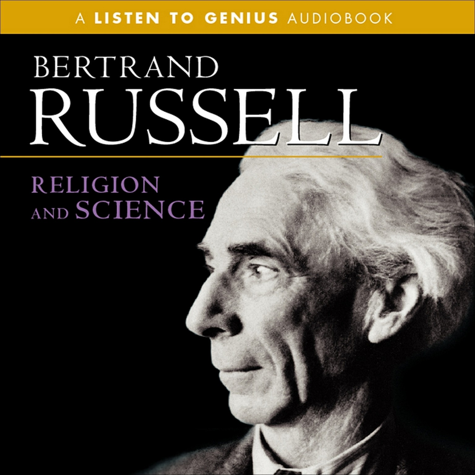Printable Religion and Science Audiobook Cover Art
