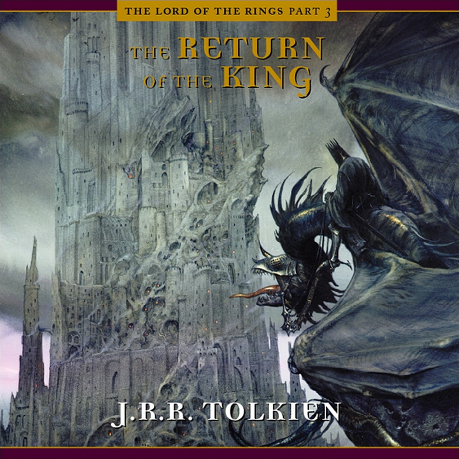 Printable The Return of the King Audiobook Cover Art