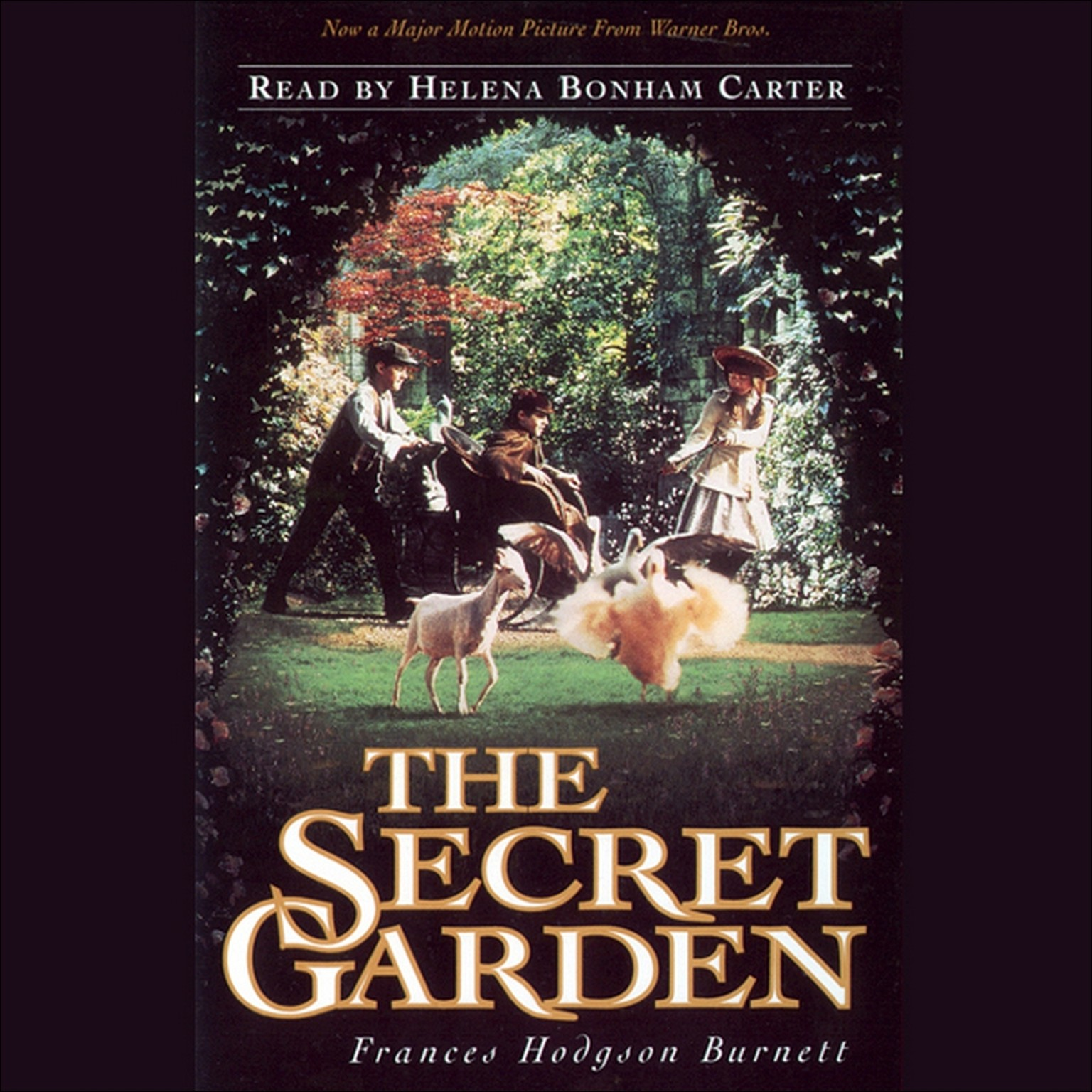 Printable Secret Garden Audiobook Cover Art
