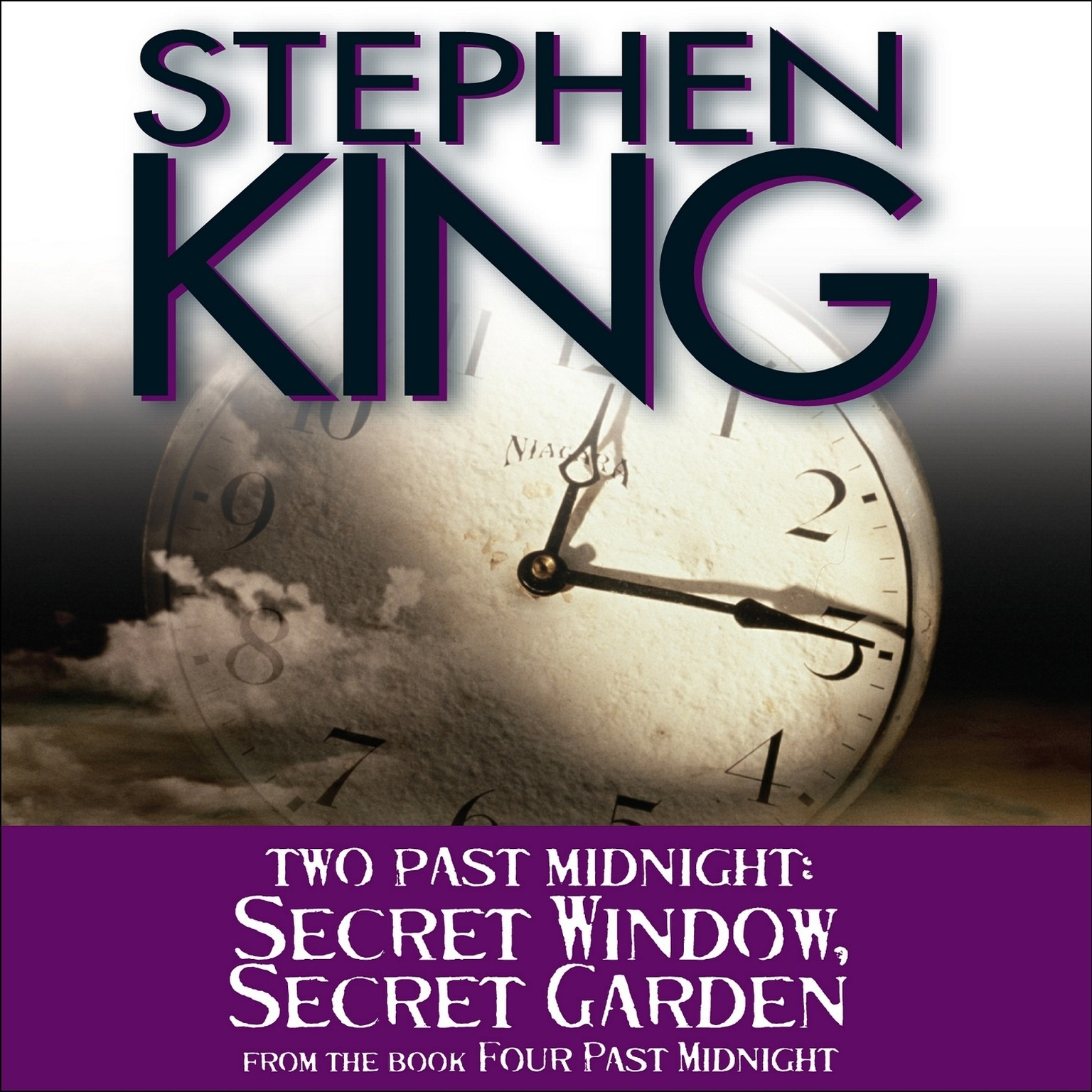 Printable Secret Window, Secret Garden: Two Past Midnight Audiobook Cover Art