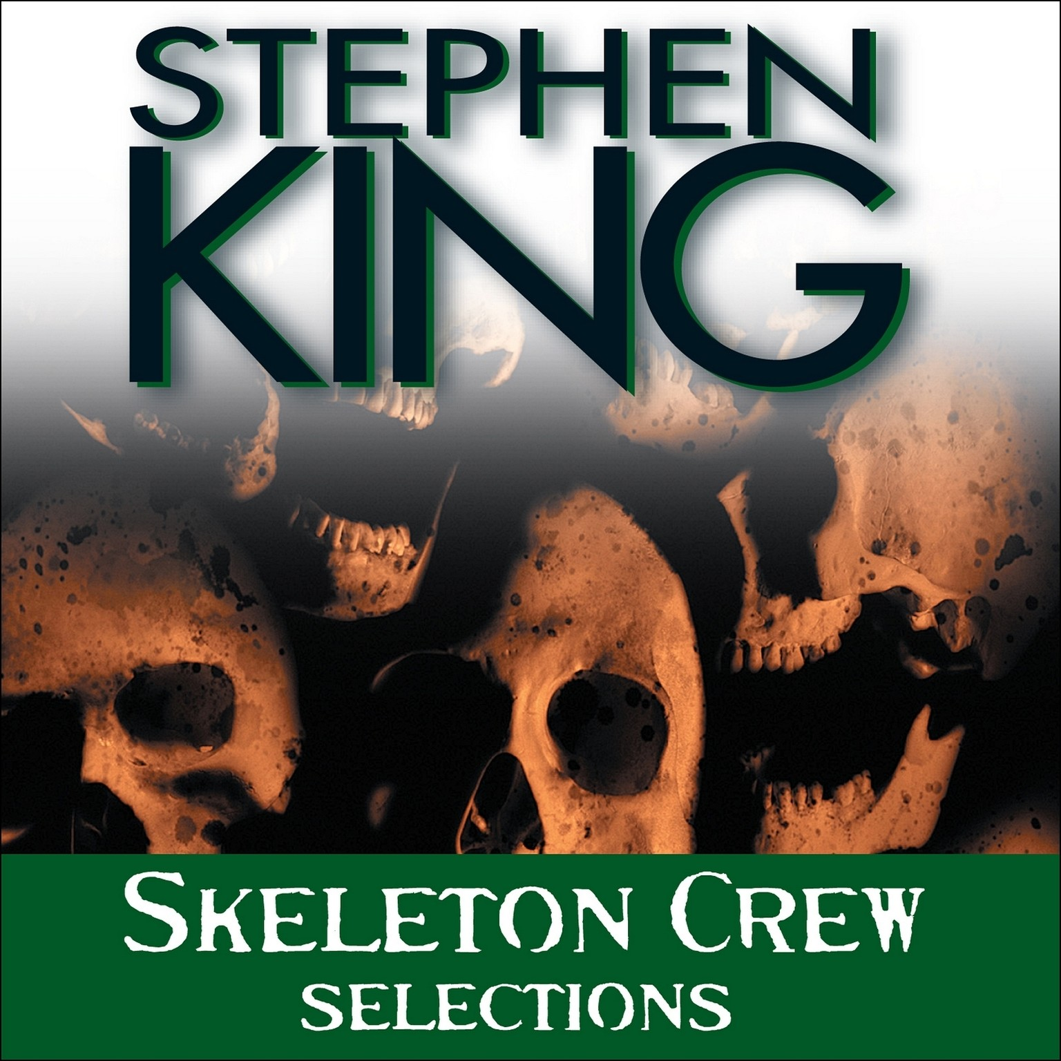 Printable Skeleton Crew: Selections Audiobook Cover Art