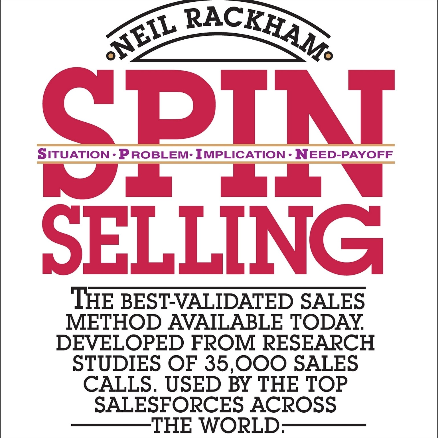 Printable SPIN Selling Audiobook Cover Art