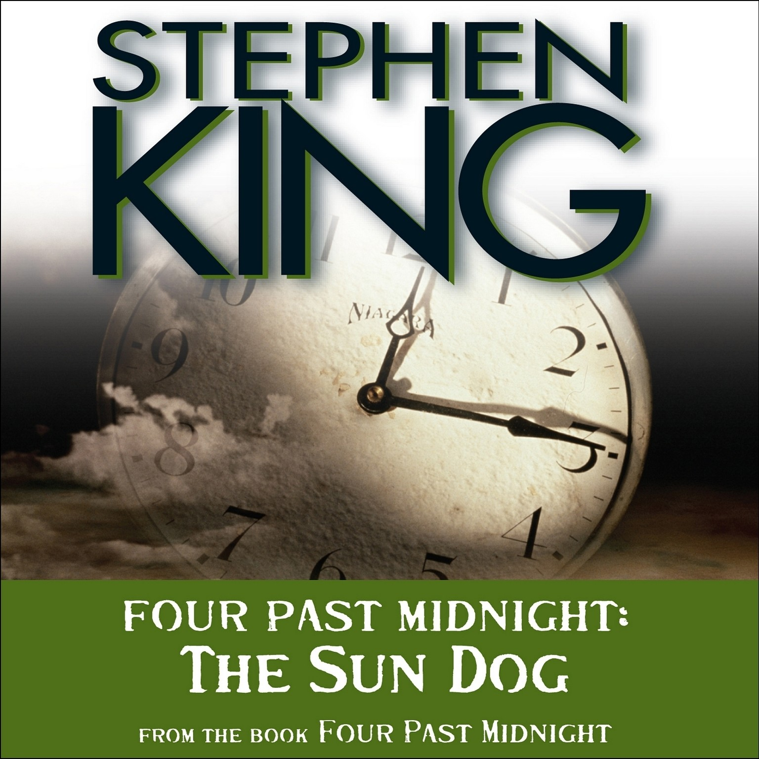 Printable The Sun Dog: Four Past Midnight Audiobook Cover Art