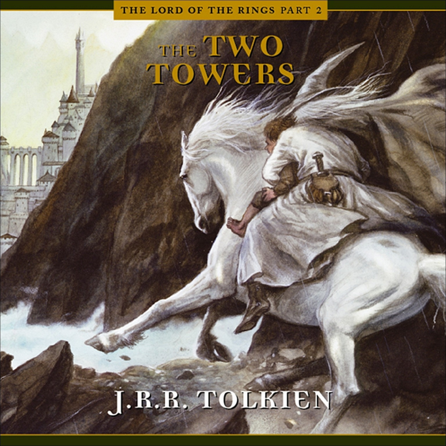 Printable The Two Towers Audiobook Cover Art