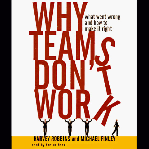 Printable Why Teams Don't Work: What Went Wrong and How to Make It Right Audiobook Cover Art