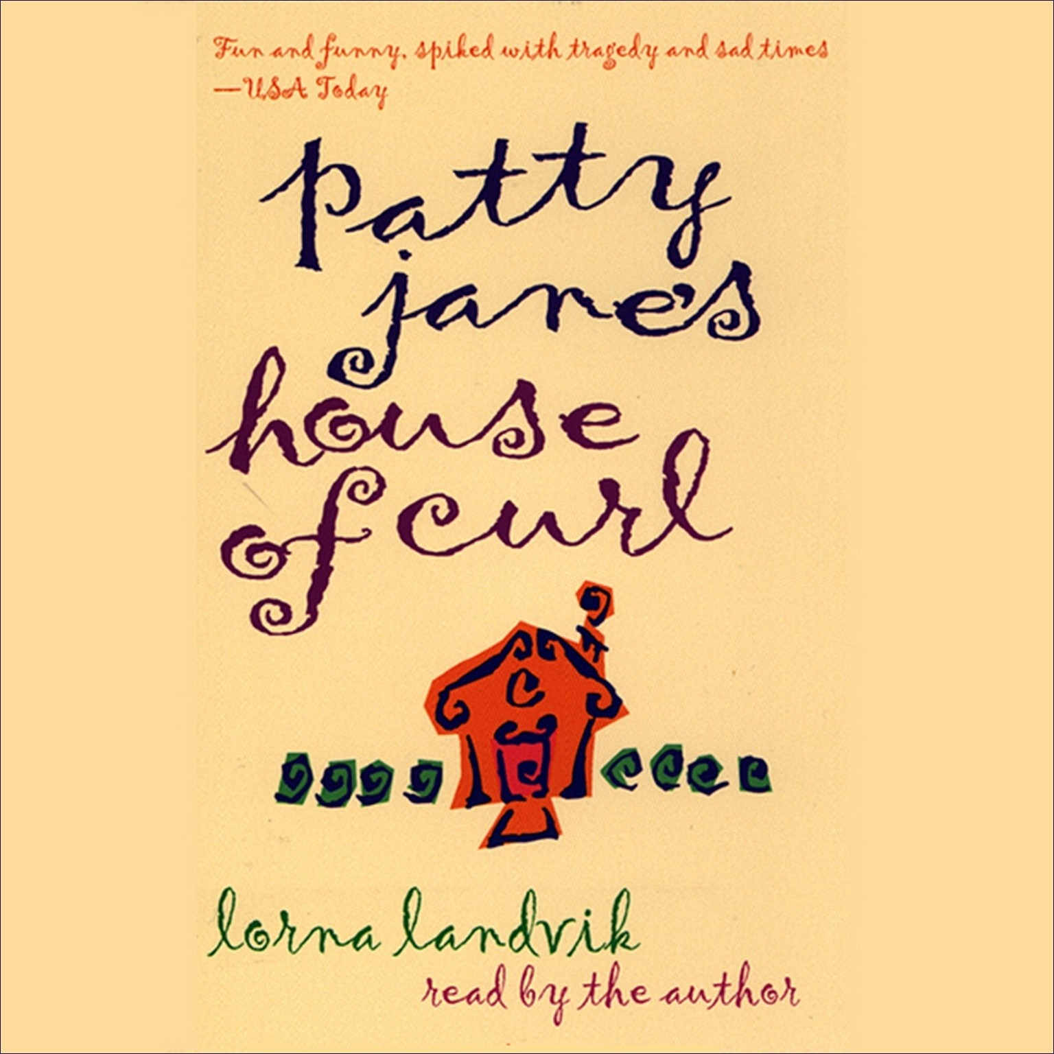 Printable Patty Jane's House of Curl Audiobook Cover Art