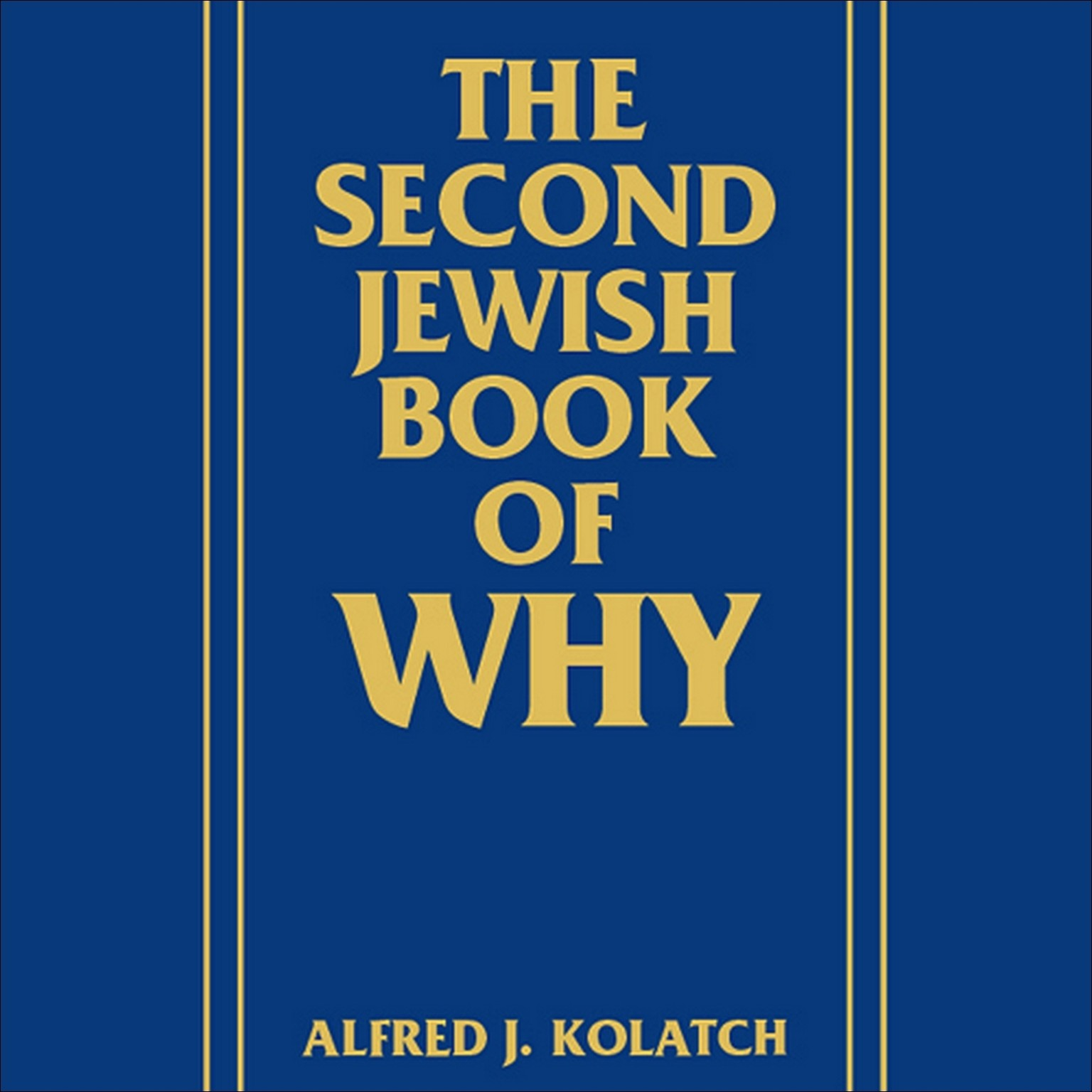 Printable The Second Jewish Book of Why Audiobook Cover Art