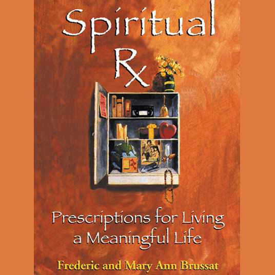 Printable Spiritual Rx: Prescriptions for Living a Meaningful Life Audiobook Cover Art