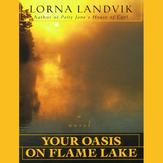 Printable Your Oasis on Flame Lake Audiobook Cover Art