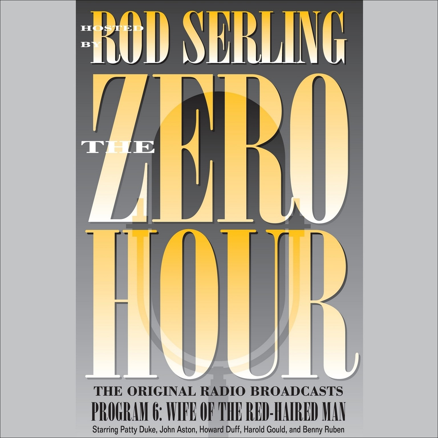 Printable Zero Hour 6: Wife of the Red-Haired Man Audiobook Cover Art