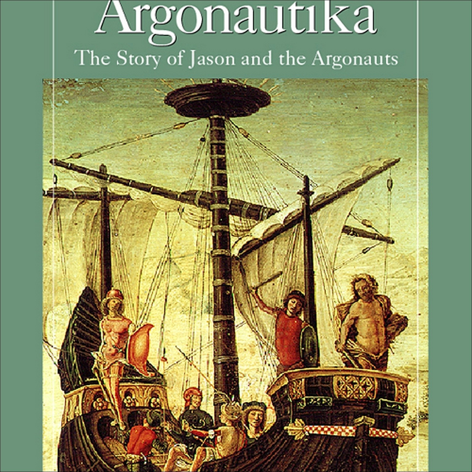 Printable Argonautika: The Story of Jason and the Argonauts Audiobook Cover Art