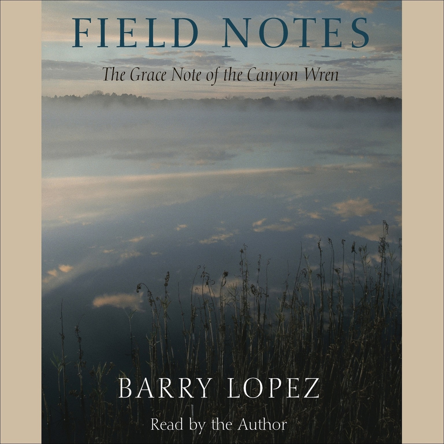 Printable Field Notes: The Grace Note of the Canyon Wren Audiobook Cover Art