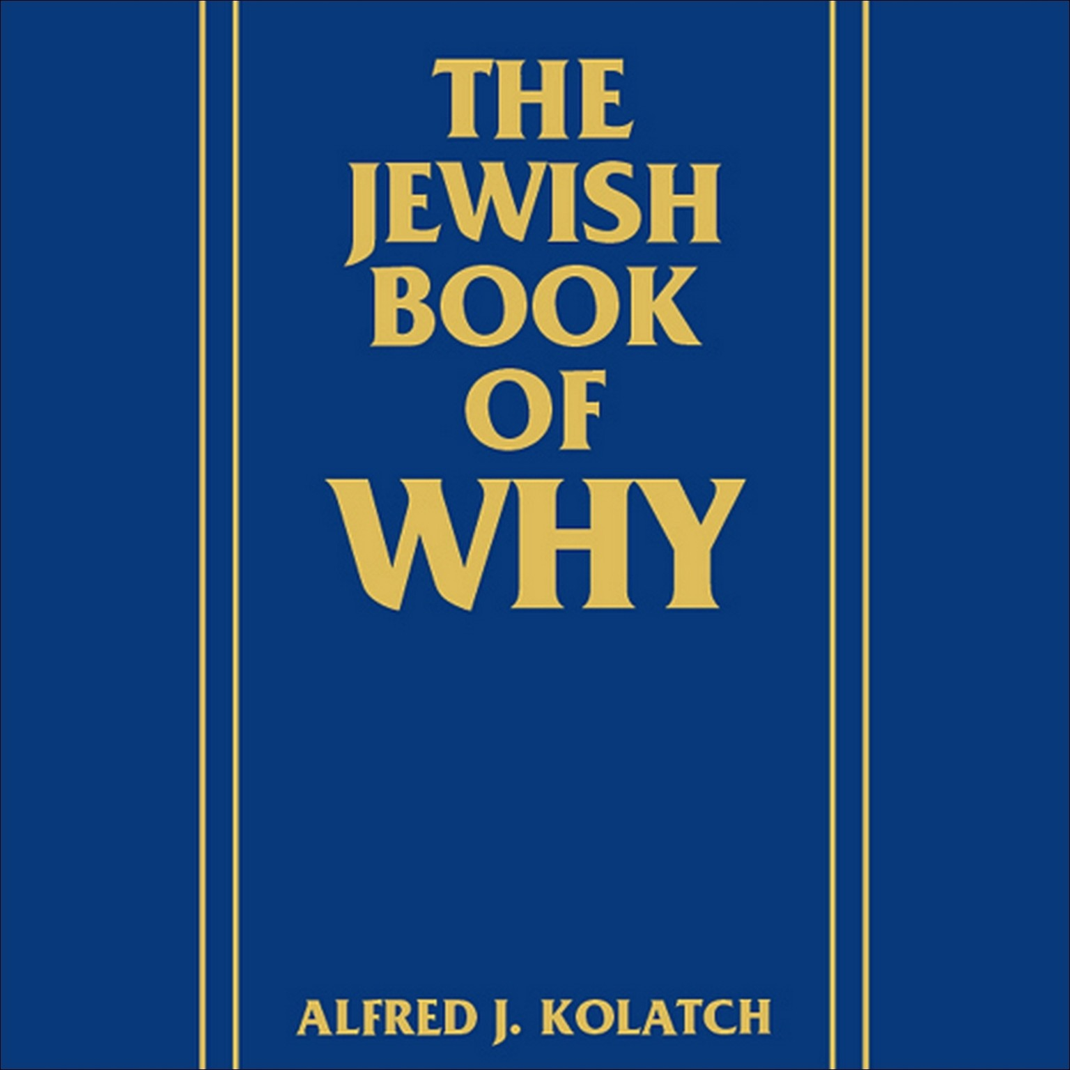 Printable The Jewish Book of Why Audiobook Cover Art