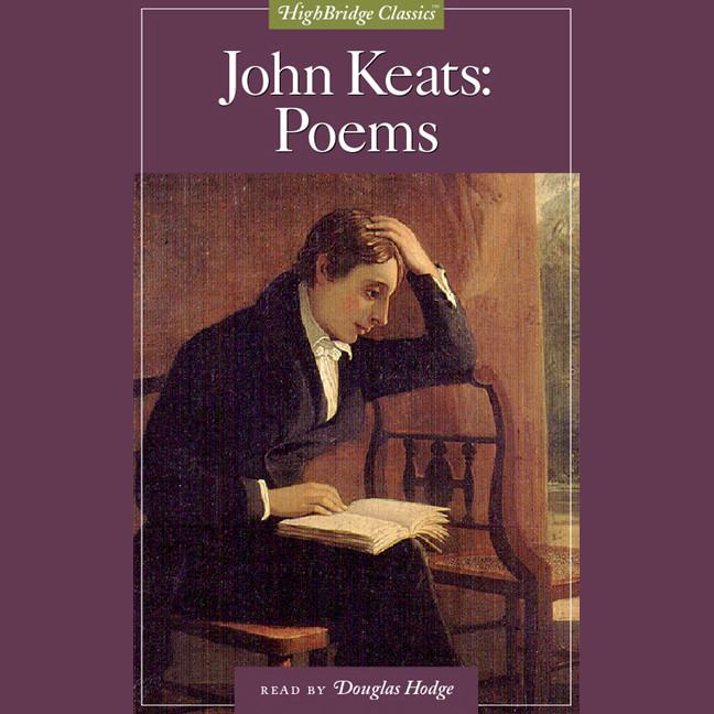 Printable John Keats: Poems Audiobook Cover Art