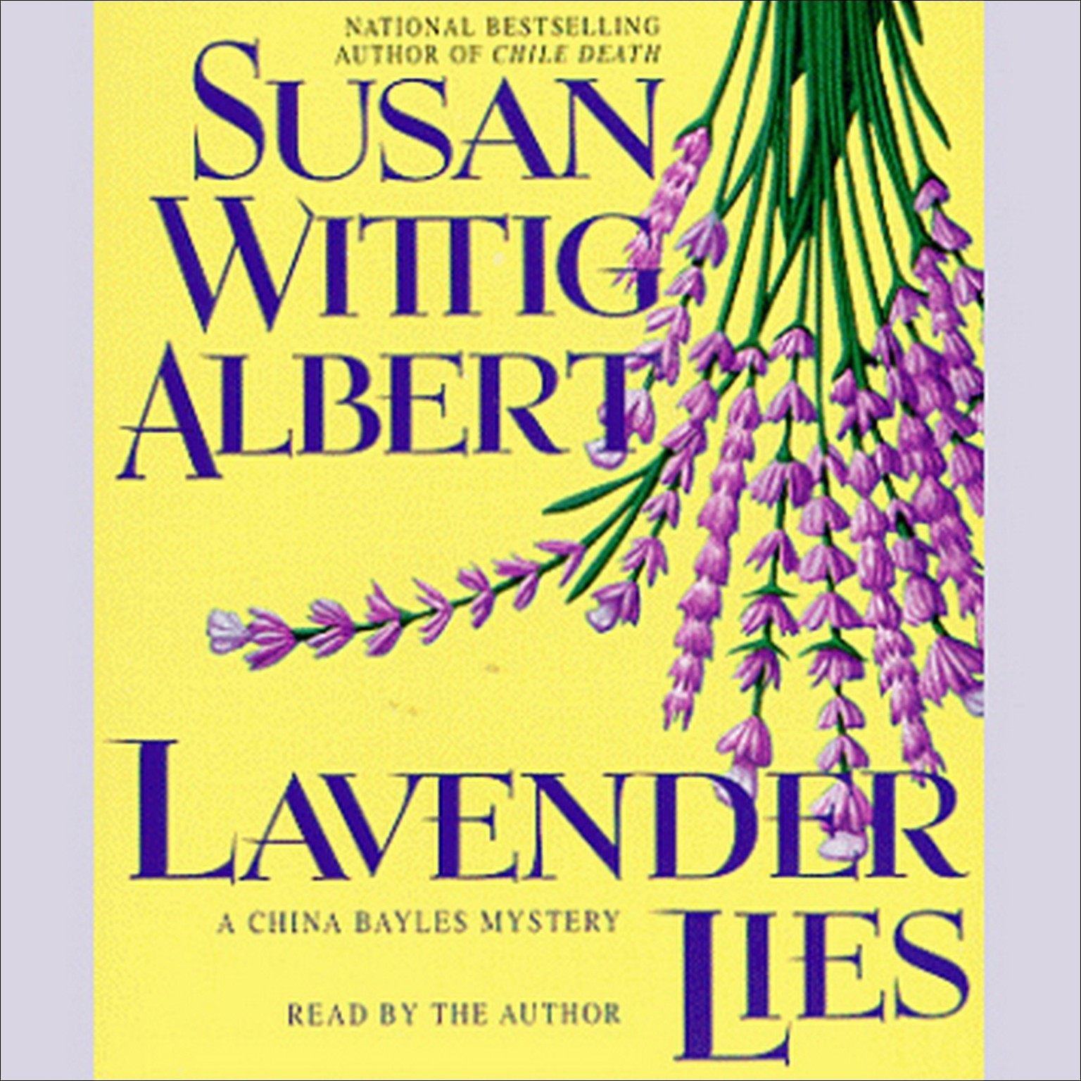 Printable Lavender Lies Audiobook Cover Art