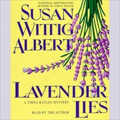 Lavender Lies Audiobook, by Susan Wittig Albert