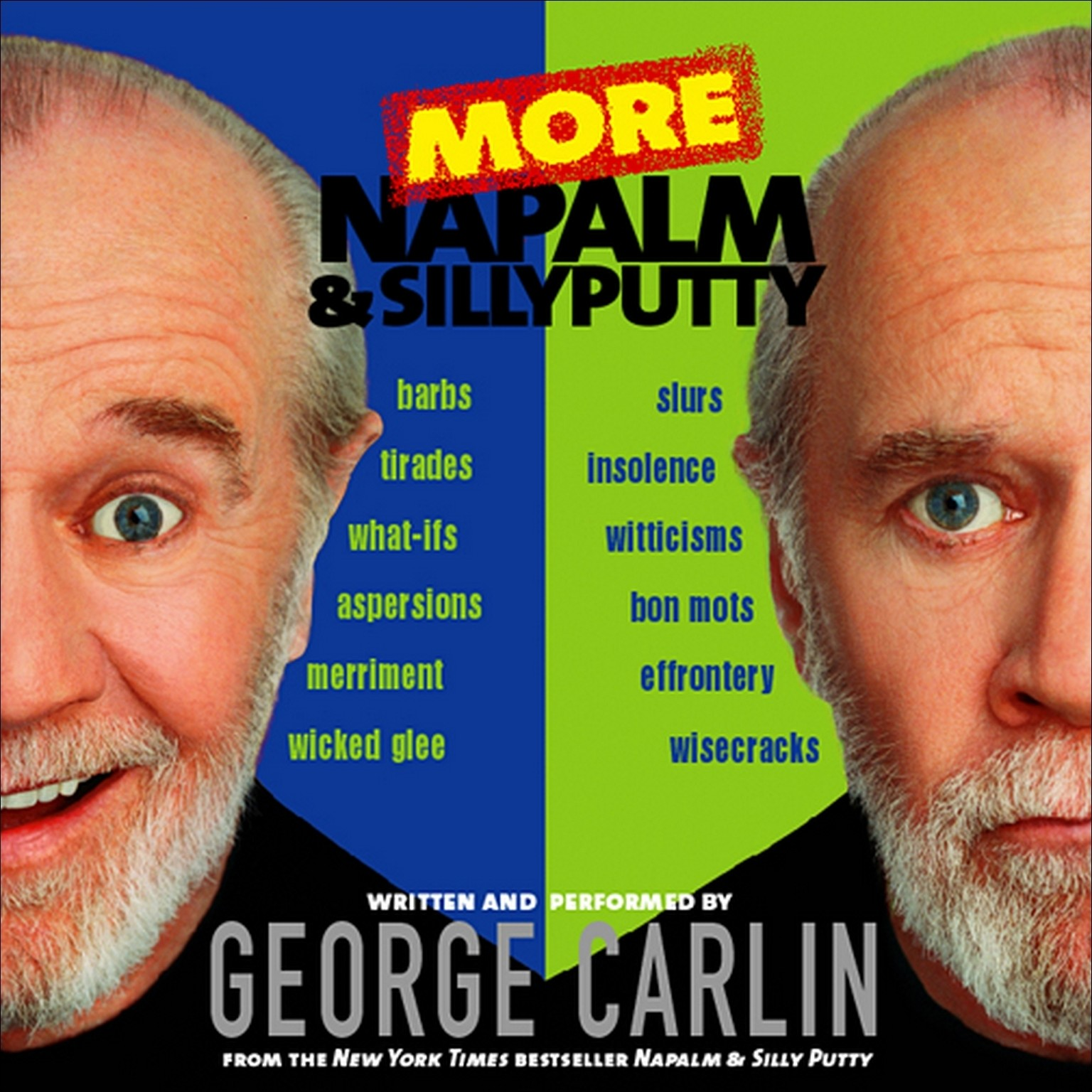 Printable More Napalm and Silly Putty Audiobook Cover Art
