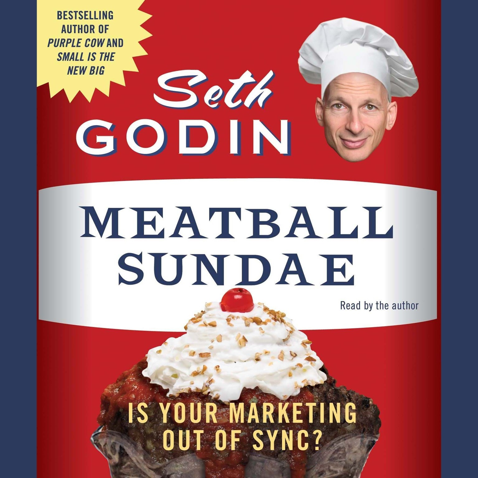 Printable Meatball Sundae: Is Your Marketing Out of Sync? Audiobook Cover Art