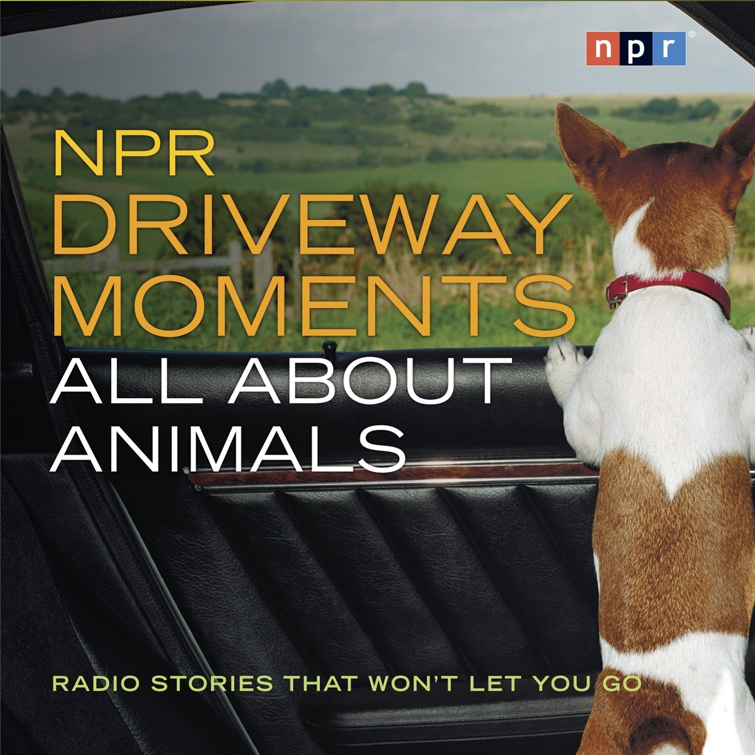 Printable NPR Driveway Moments: All About Animals: Radio Stories That Won't Let You Go Audiobook Cover Art