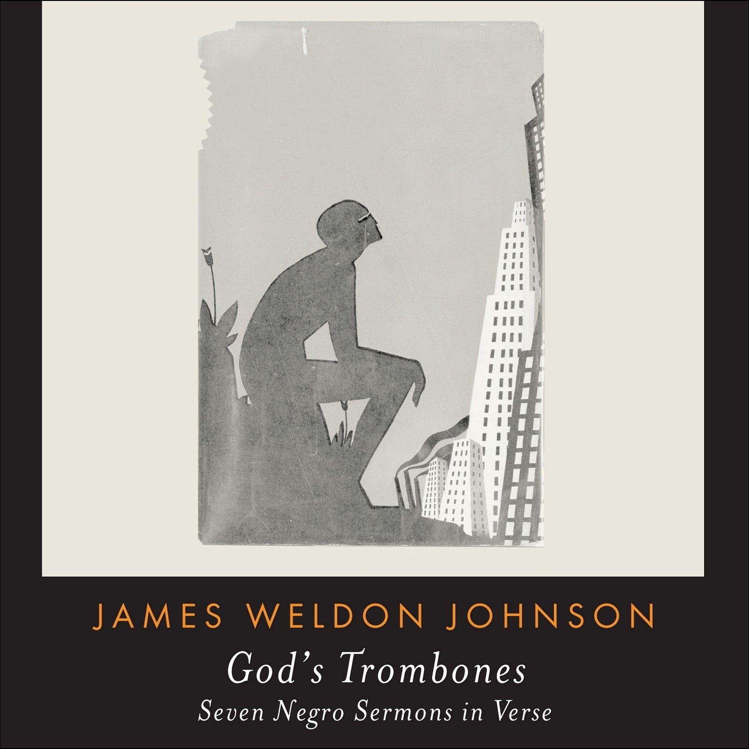 Printable God's Trombones: Seven Negro Sermons in Verse Audiobook Cover Art