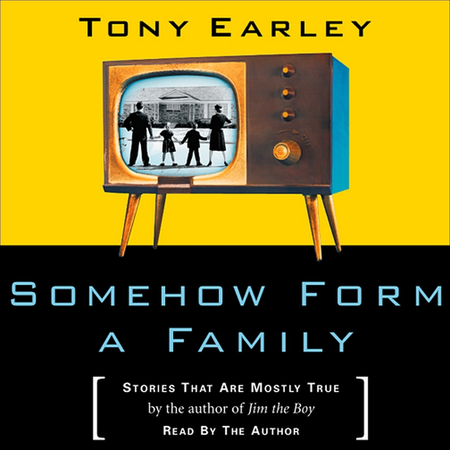 Printable Somehow Form a Family: Stories That Are Mostly True Audiobook Cover Art