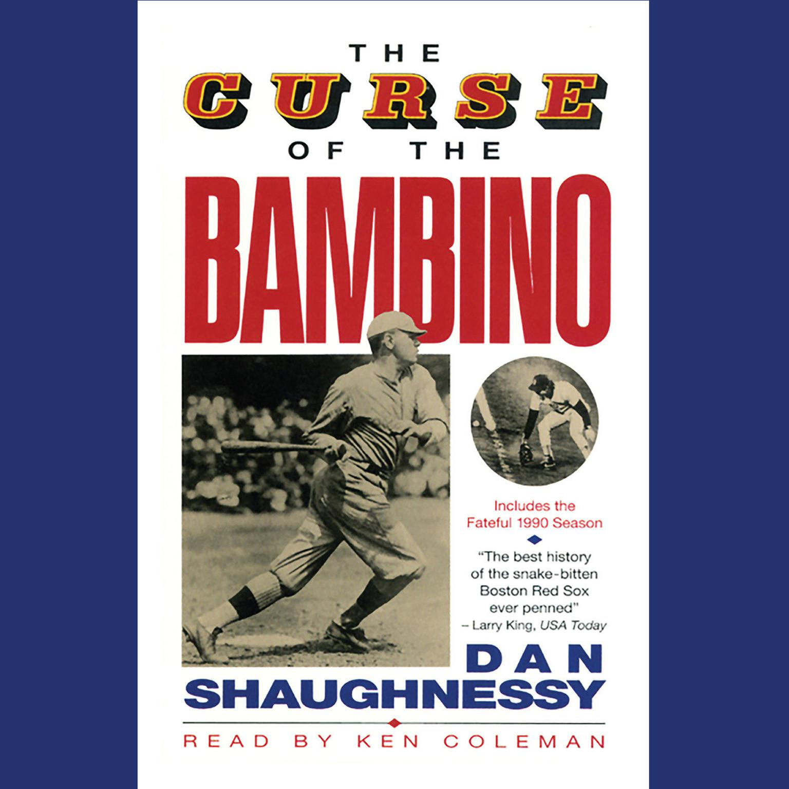 Printable The Curse of the Bambino Audiobook Cover Art