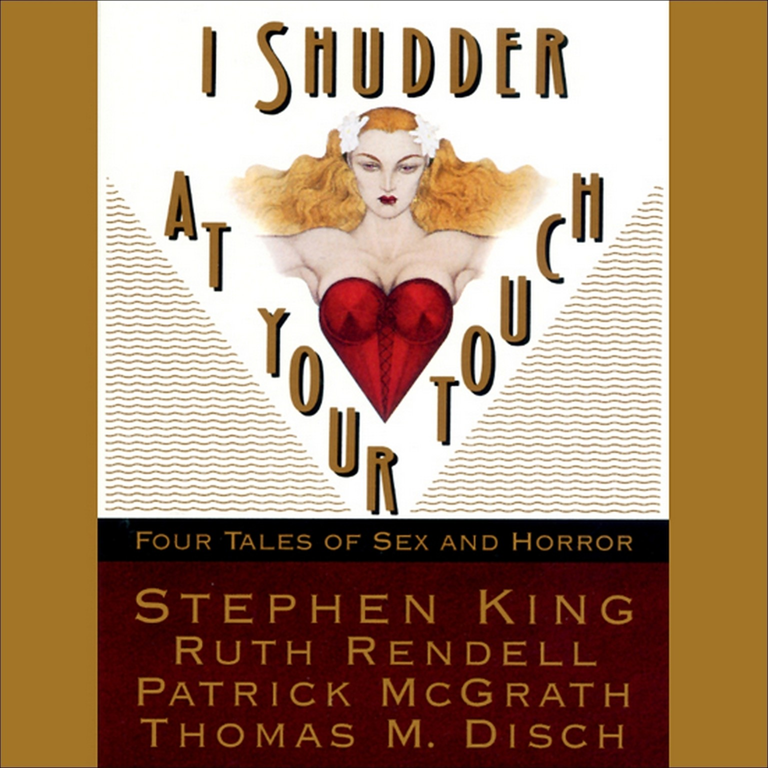 Printable I Shudder at Your Touch: Four Tales of Sex and Horror Audiobook Cover Art