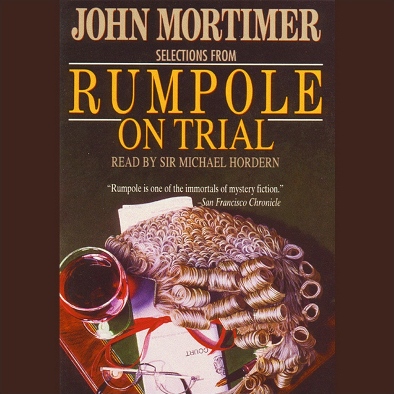 Printable Rumpole on Trial Audiobook Cover Art