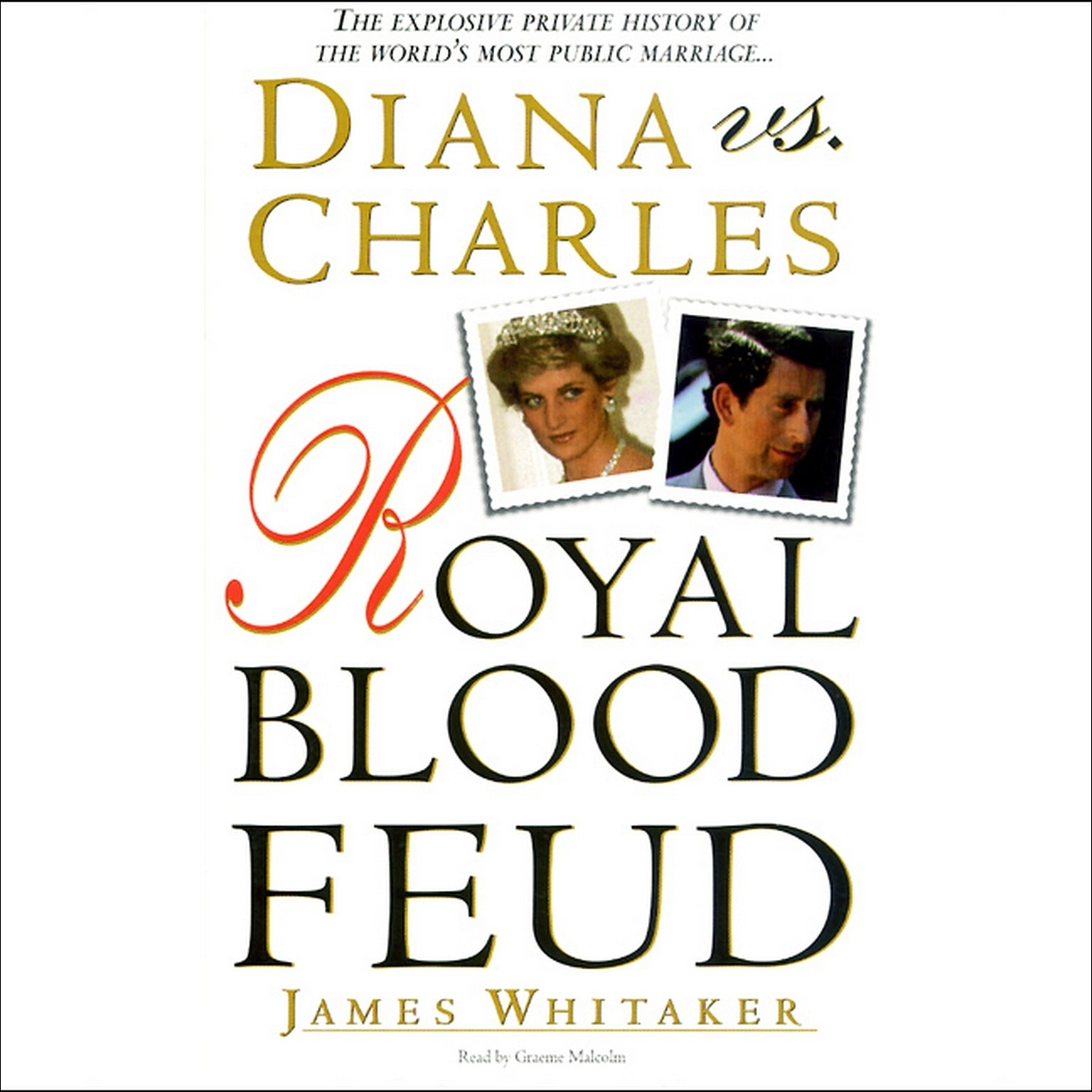 Printable Diana vs. Charles Audiobook Cover Art
