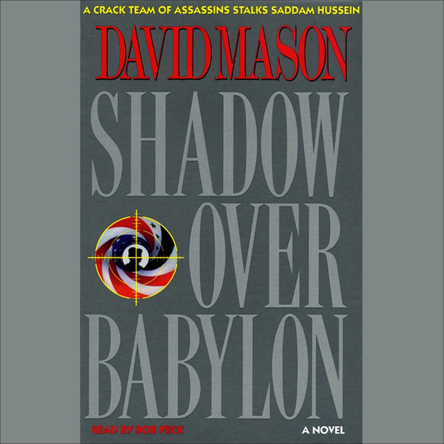 Printable Shadow Over Babylon Audiobook Cover Art