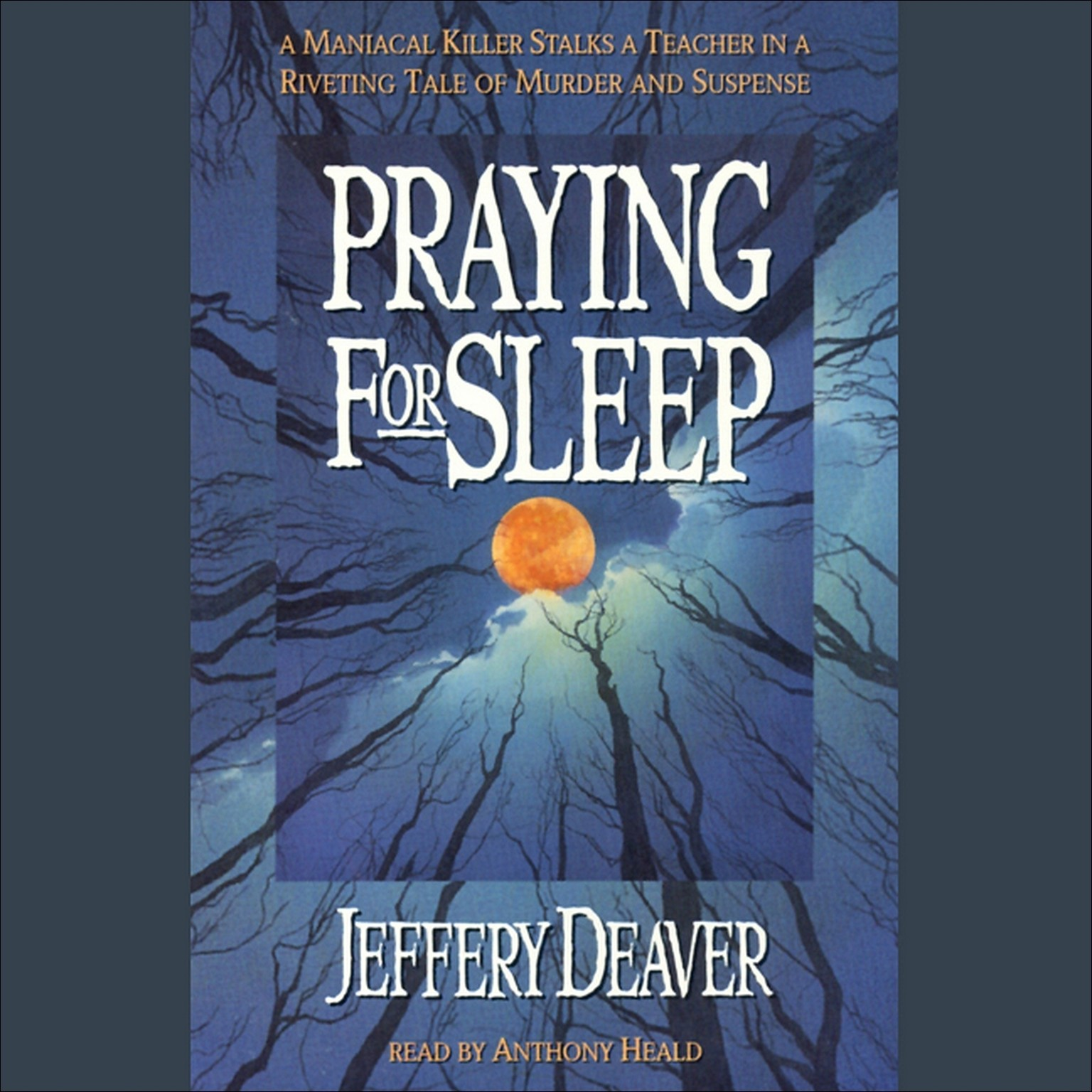 Printable Praying for Sleep Audiobook Cover Art