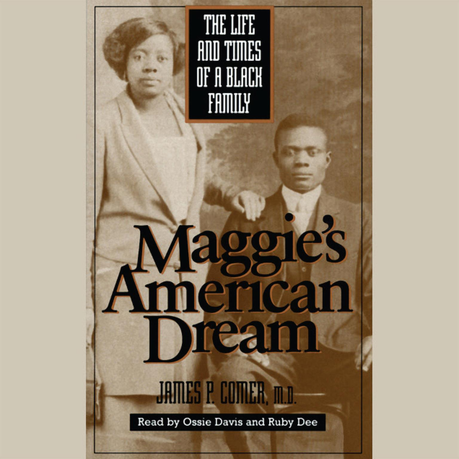 Printable Maggie's American Dream: The Life and Times of a Black Family Audiobook Cover Art