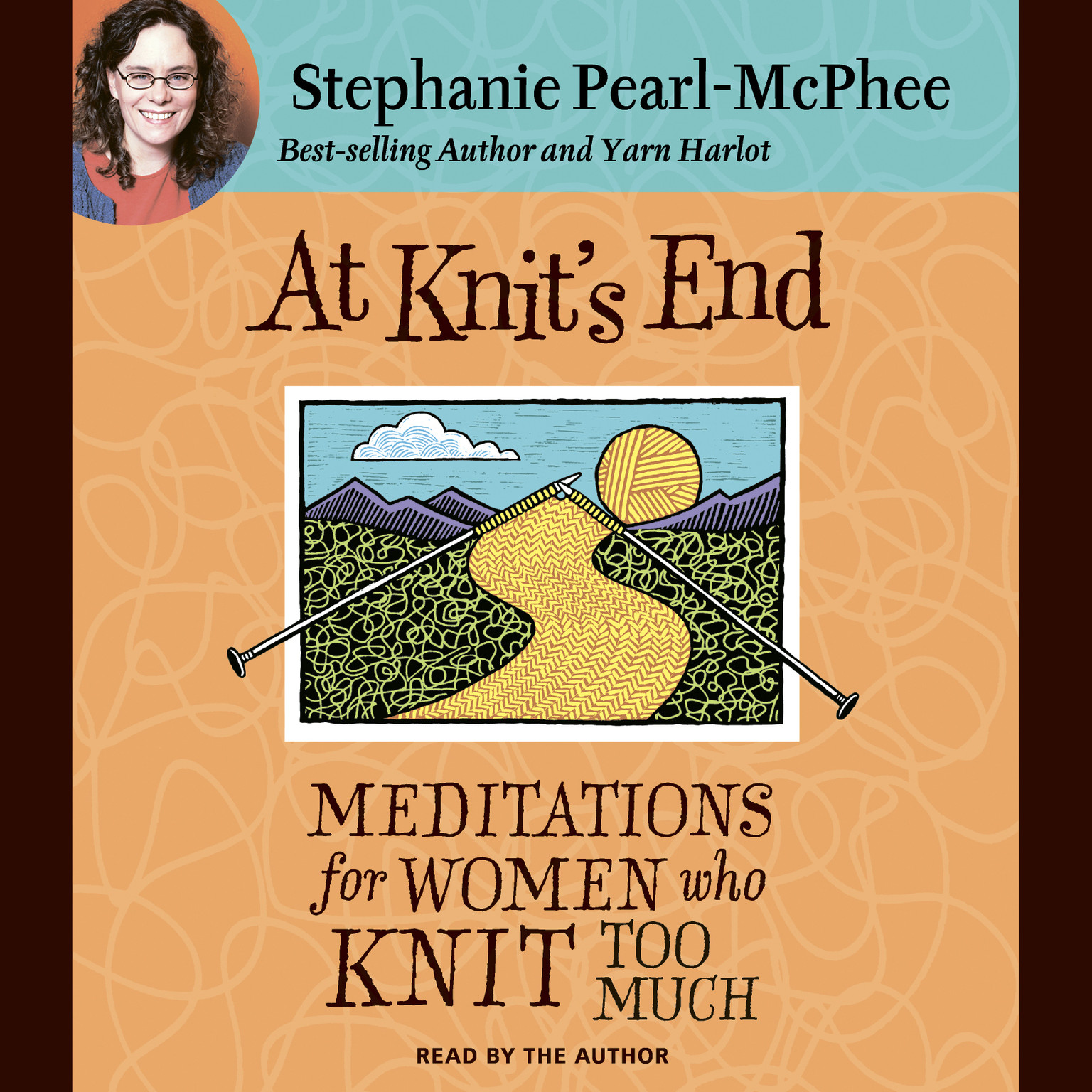 Printable At Knit's End: Meditations for Women Who Knit Too Much Audiobook Cover Art