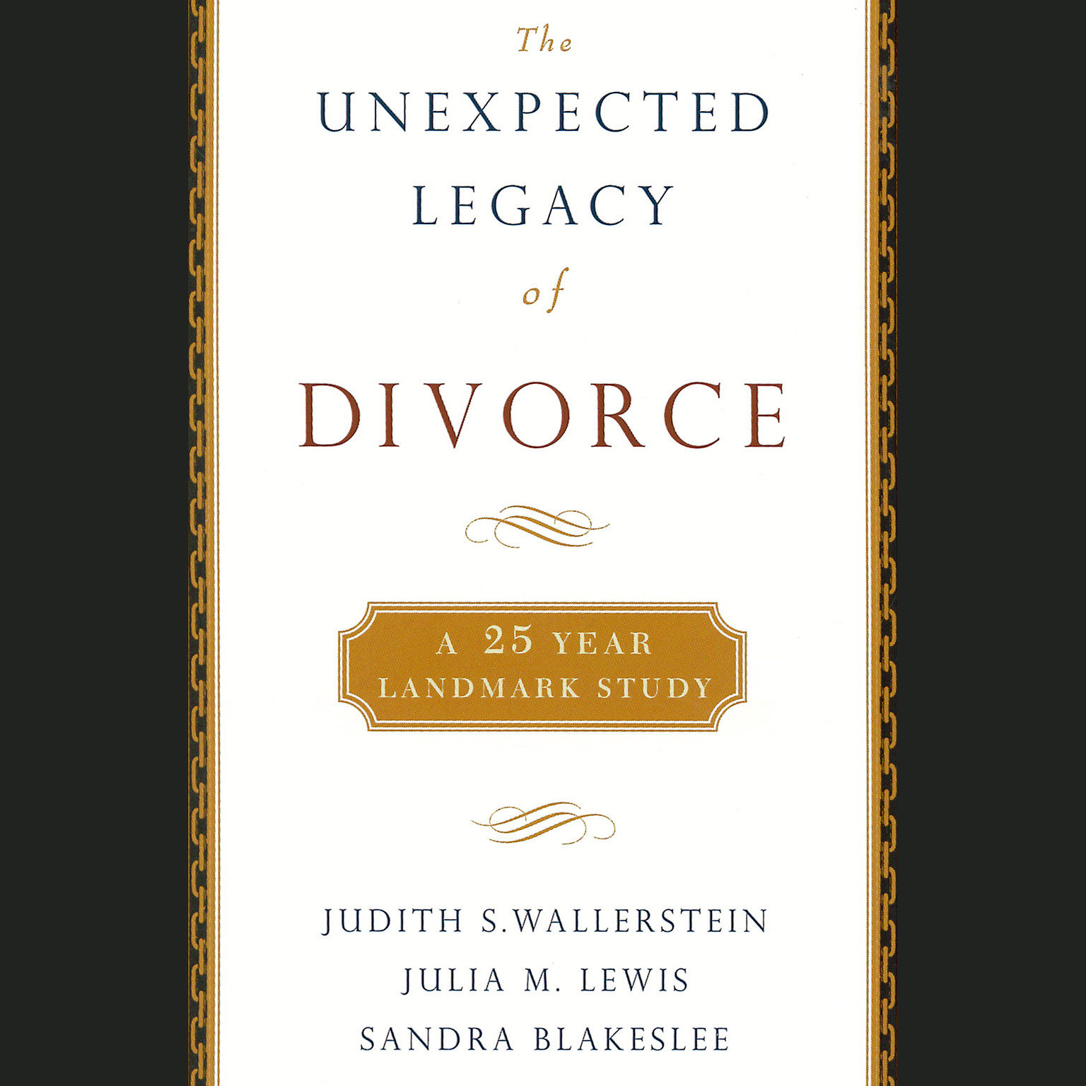 Printable The Unexpected Legacy of Divorce Audiobook Cover Art