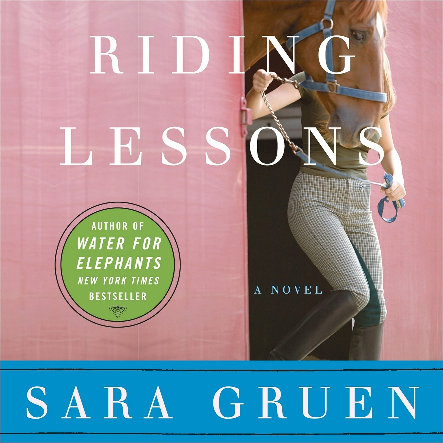 Printable Riding Lessons Audiobook Cover Art